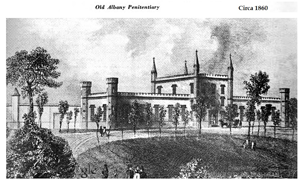 The Albany Penitentiary Friends Of Albany History